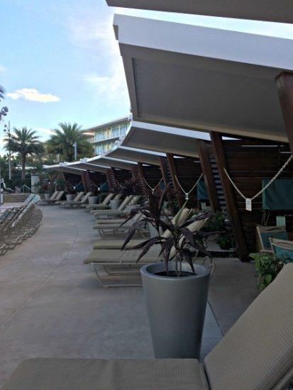 Cabanas at the Cabana Courtyard Pool