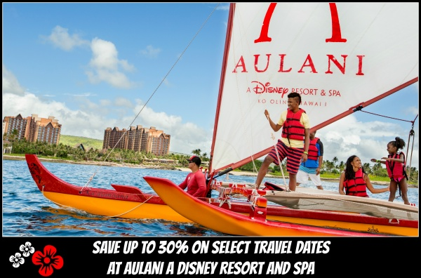 Aulani Fall Vacation Savings – Stay 3 Nights, Get a 4th Free or Save Up To 30% on 5+ Nights