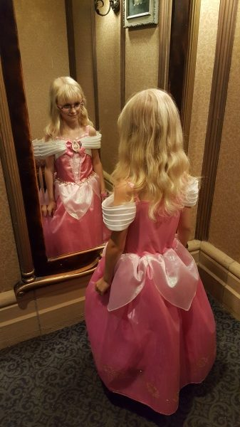 Bibbidi Bobbidi Boutique Princess Makeover