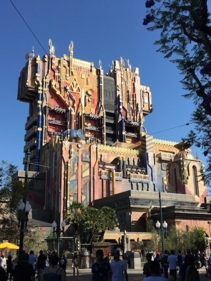 Guardians Attraction at Disney's California Adventure