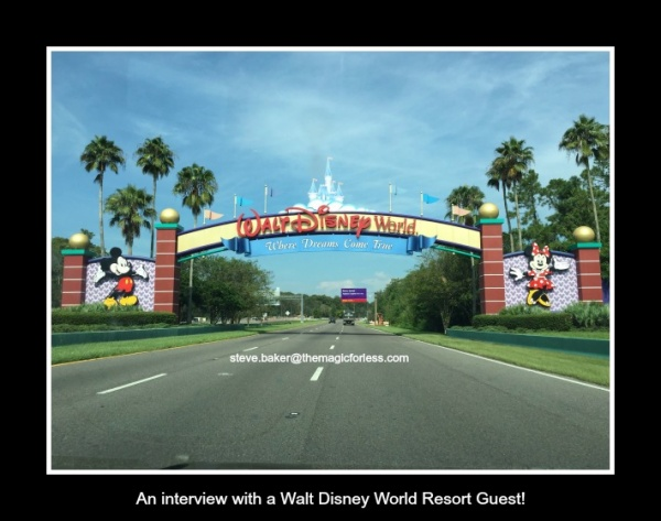 Interview with a Magic For Less Travel Walt Disney World Guest