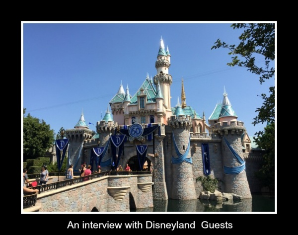 Interview with Magic For Less Travel Disneyland Guests