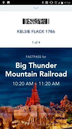 Disney's MaxPass Disneyland