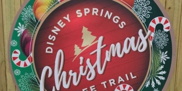 Disney Springs Magical Holiday Trees