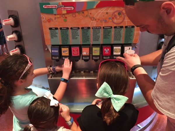 Coca-Cola flavors from around the world at Club Cool
