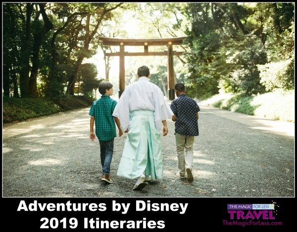 2019 Adventures By Disney Itineraries Announced