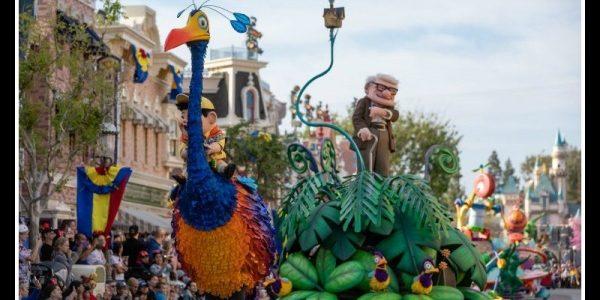 Pixar Play Parade at the Disneyland Resort During Pixar Fest