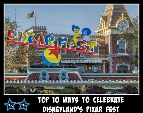 Disneyland Pixar Fest Disney travel agent