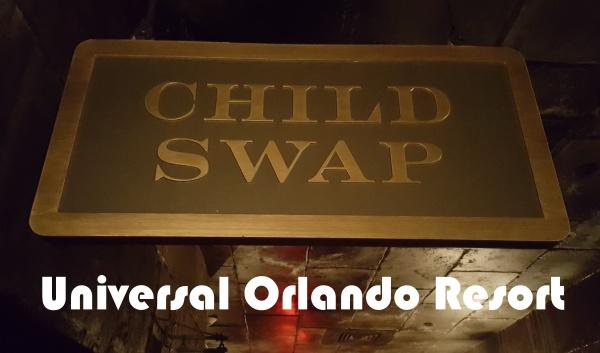 Universal Orlando Resort Child Swap Rooms