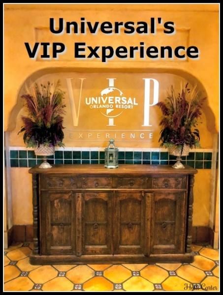 Universal's VIP Experience
