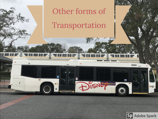 Other forms of transportation – Big and Small