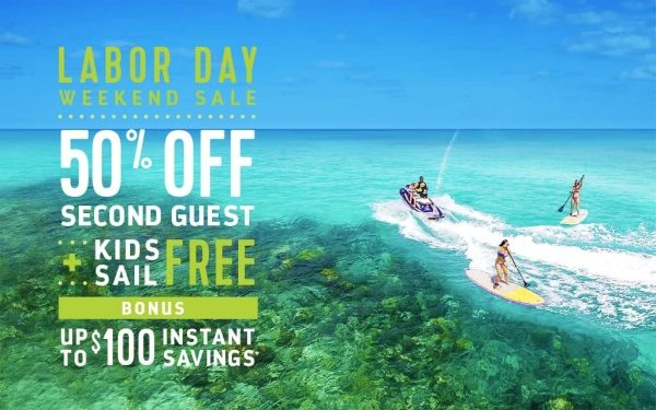 Royal Caribbean Cruise Line Labor Day Sale