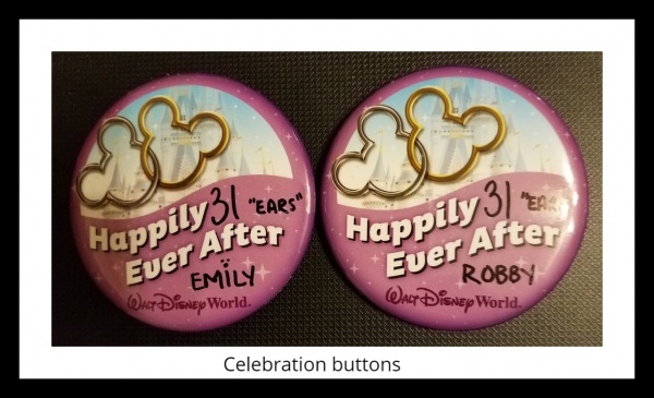 Celebrating a special occasion at Disney World