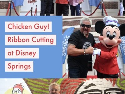 Chicken Guy! At Disney Springs Now Open