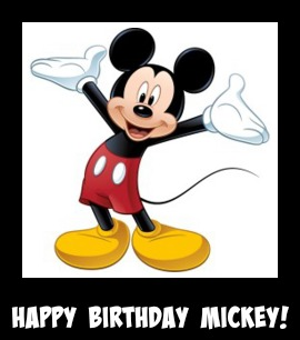 Limited-Time Celebrations Planned for the 90th Anniversary of Mickey Mouse