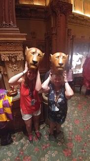 The Lion King masks
