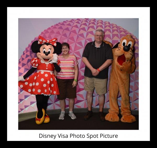 Disney Visa Photo Spot