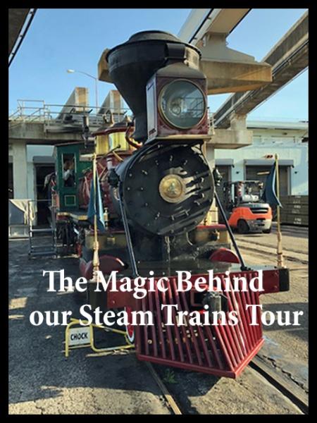 The Magic Behind our Steam Trains tour at Walt Disney World