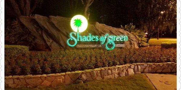 Shades of Green at the Walt Disney World Resort