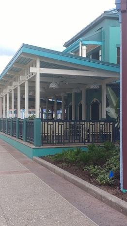 Outside seating for Centertown Market