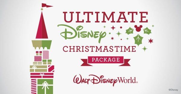 the Ultimate Disney Christmastime Package at Walt Disney World