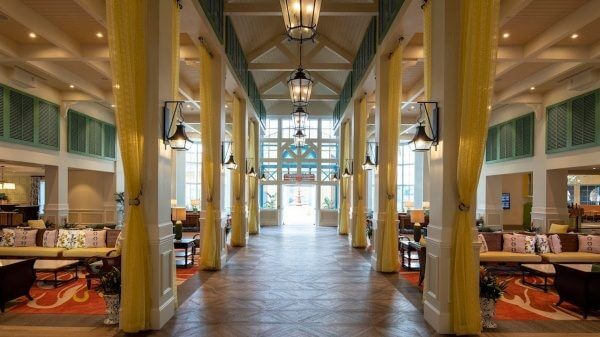 new features at Disney's Caribbean Beach Resort debuted this week