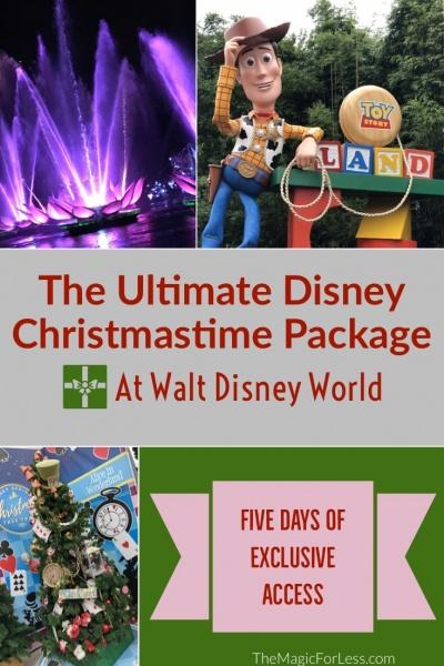 Book the Ultimate Disney Christmastime Package at Walt Disney World Resort