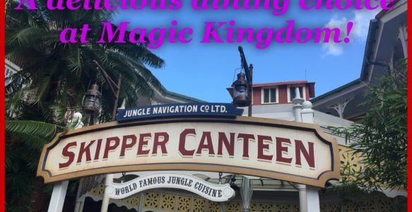 Jungle Navigation Co., Ltd. Skipper Canteen ~ A Delicious Dining Choice at Magic Kingdom!