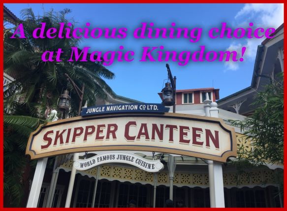 Jungle Navigation Co., Ltd. Skipper Canteen ~ A Delicious Dining Choice at Magic Kingdom!