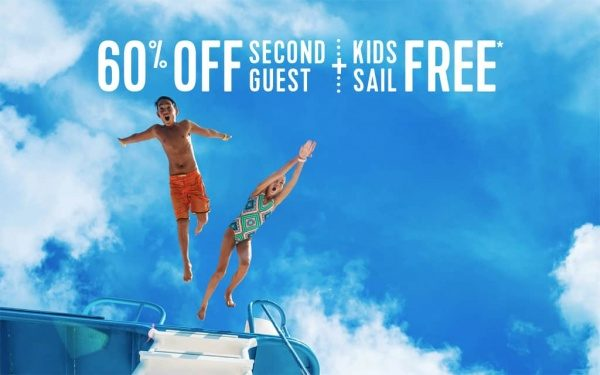 Royal Caribbean Cruise Line BOGO60 Kids Sail Free Deck The Holidays Dash