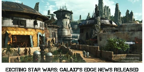 Exciting Star Wars: Galaxy's Edge News Released