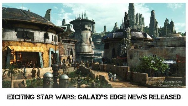 Exciting Star Wars: Galaxy's Edge News