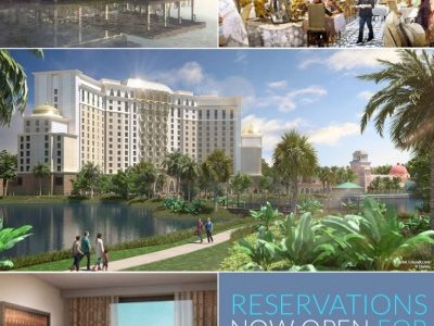 Reservations for Gran Destino Tower at Disney's Coronado Springs Resort