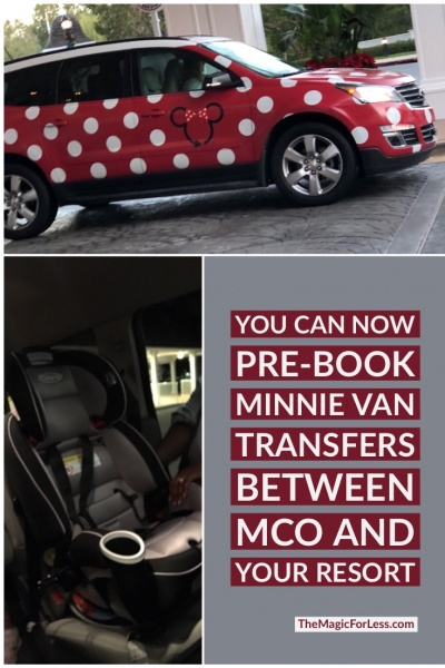 Minnie Van Airport Service Available to Pre-Book with Your Package