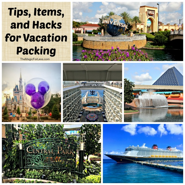 Tips, Items, and Hacks for Vacation Packing