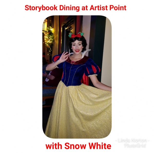 Storybook Dining with Snow White Now Open