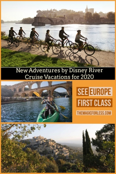 New Adventures by Disney River Cruise Vacations for 2020