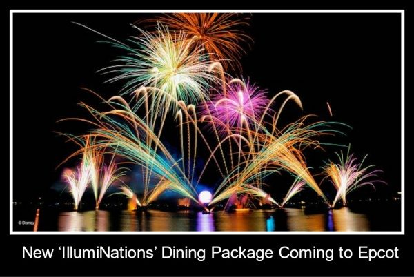 New 'IllumiNations' Dining Package Coming to Epcot