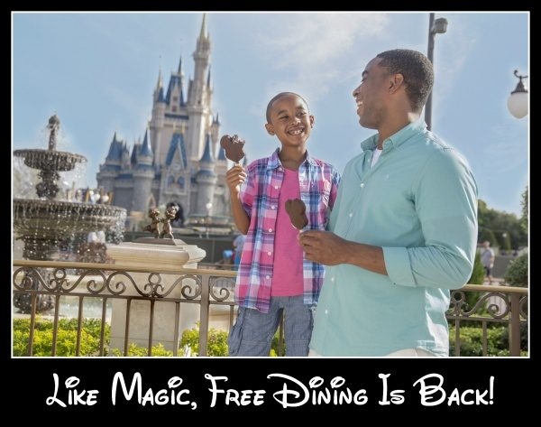 Disney World Special Offers Including Free Dining Launch Today!
