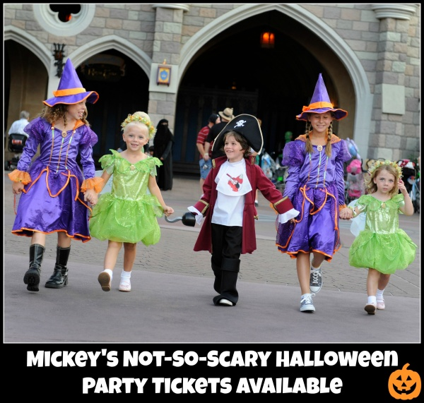 Available Now: Mickey's Not-So-Scary Halloween Party Tickets!