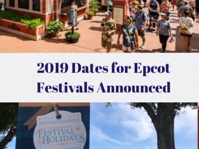 Details Unveiled for 2019 Disney Festivals Taking Place at Epcot