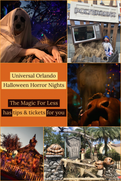 The Best Tips for Halloween Horror Nights from The Magic for Less Travel Team