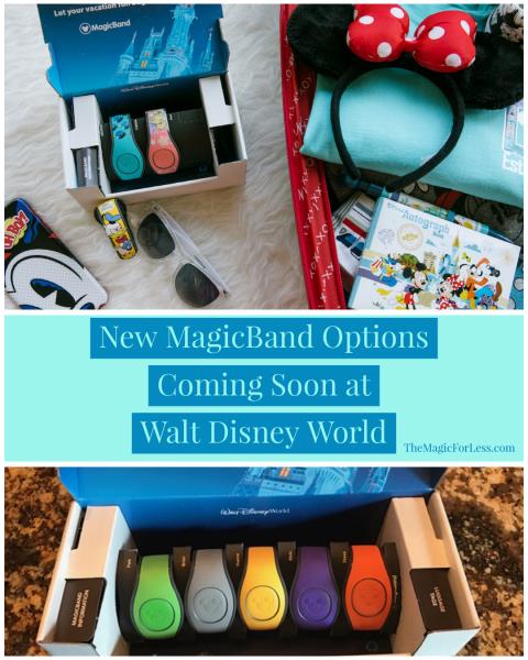 New MagicBand Options Coming Soon at Walt Disney World Resort