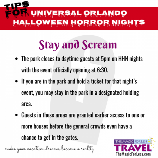 The Best Tips for Halloween Horror Nights