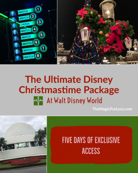 Book Your Ultimate Disney Christmastime Package