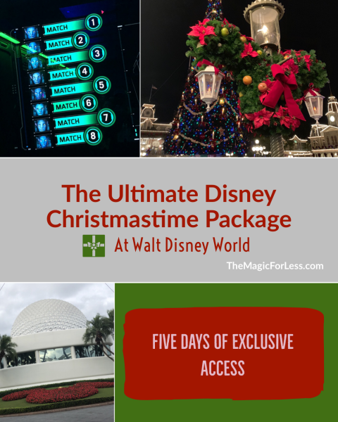 Book Your Ultimate Disney Christmastime Package at Walt Disney World