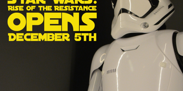 Star Wars: Rise of the Resistance Opening Date Announced