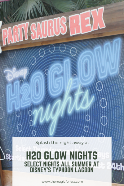 Disney's H20 Glow Nights Review