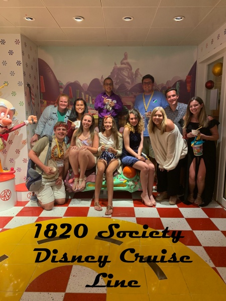 The 1820 Society on Disney Cruise Line