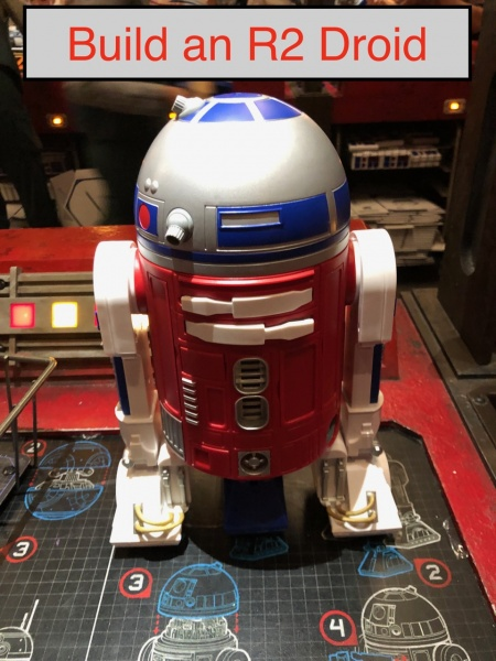 Build a Droid at Droid Depot in Galaxy's Edge!
